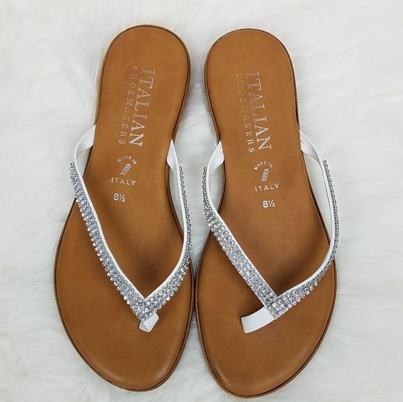 4d7482815 Italian Shoemakers Shoes - Italian Shoemakers Fancy Sandals